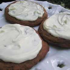 Gingersnaps With White Chocolate Chips