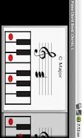 Screenshot of Piano Chord Book