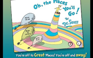 Screenshot of Oh, the Places You'll Go!