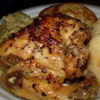 Cider Vinegar Chicken
