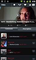 Screenshot of The Official Ozzy Osbourne App
