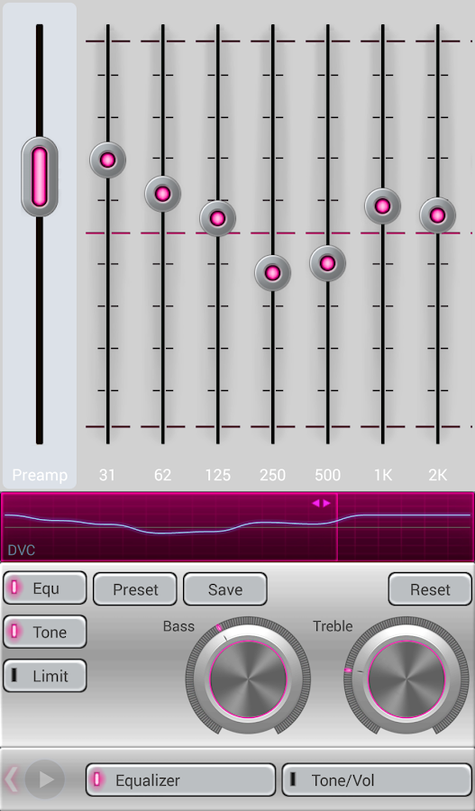 Mad Jelly Pink Poweramp Skin Screenshot 4