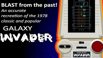 Screenshot of Galaxy Invader 1978