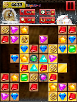 Screenshot of Super Jewels Quest - Christmas