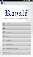 Screenshot of Royale Business Club Int'l Inc