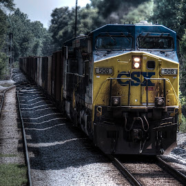 by Travis Tapley - Transportation Trains
