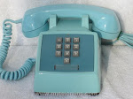 Desk Phones - Western Electric 1500 Blue
