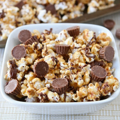 Reese's Peanut Butter Cup Popcorn