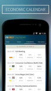 FXStreet Forex News & Calendar screenshot for Android
