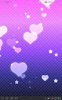 Screenshot of Hearts Live Wallpaper Free