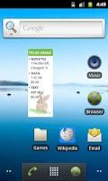 Screenshot of Telus usage summary widget