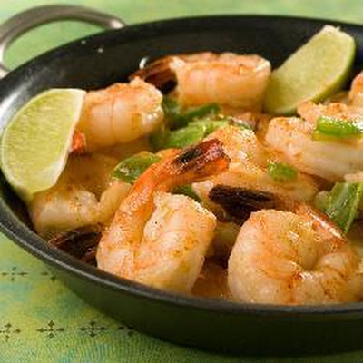 Spicy Garlic and Chilli Prawns
