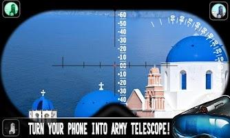 Screenshot of Army Telescope