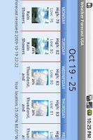 Screenshot of Weather Forecast USA