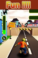 Screenshot of Zombie Run 3D - City Escape