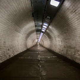 the tunnel by Emanuel Ribeiro - Buildings & Architecture Other Interior ( london, walk, greenwich, tunnel )