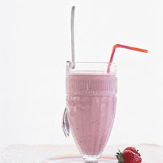 Strawberry-Soy Milk Shake