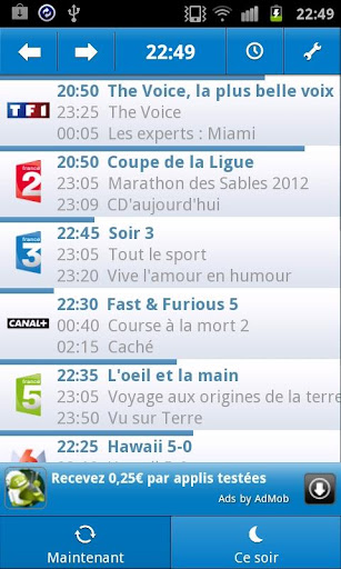 Guide TV *Ancienne version*