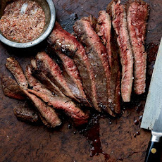 Grilled Flank Steak With Chile Spice Rub