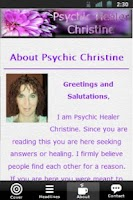 Screenshot of Psychic Christine