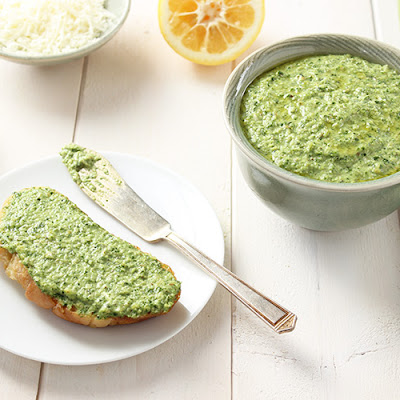 Meyer Lemon Basil Pesto
