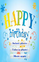 Screenshot of Birthday Photo Frames