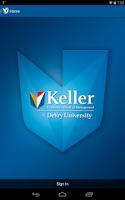 Screenshot of Keller Graduate School