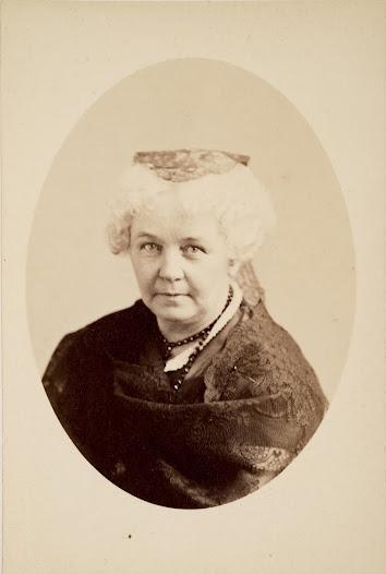 Elizabeth Cady Stanton (November 12, 1815 – October 26, 1902)