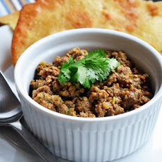 Deconstructed Samosa (Spiced Keema)