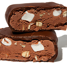 Chocolate-Dipped Rocky Road Ice Cream Bars Recipe