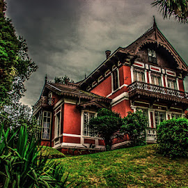 Lookout House garden by Pedro Vaz de Carvalho - Buildings & Architecture Homes