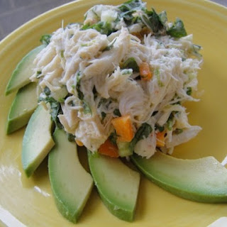 Crab Salad with Lime and Avocado