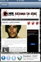 Screenshot of Pasajes de Terror