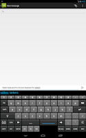 Screenshot of Tablet Keyboard Pro
