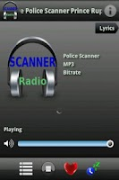 Screenshot of Scanner Radio