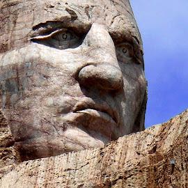 Crazy Horse by Shannon Carpenter Baum - Buildings & Architecture Statues & Monuments (  )