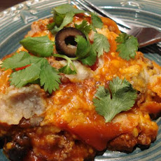 Crock-Pot Slow Cooker Enchilada Casserole