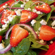 Ww Strawberry Spinach Salad