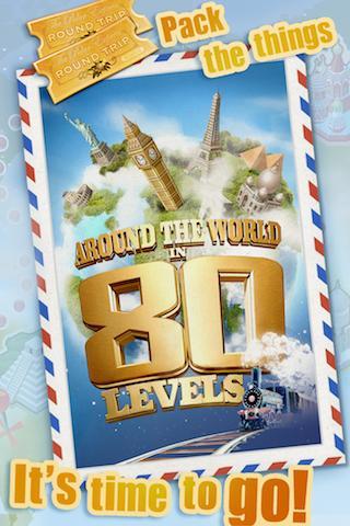 Around the World in 80 Levels