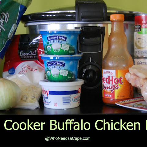 Slow Cooker Buffalo Chicken Pasta
