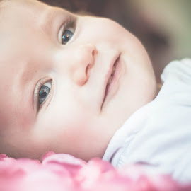 Natural Beauty by Jenny Hammer - Babies & Children Babies ( girl, blue eyes, baby, cute, natural )