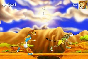 Screenshot of Big Cat Race lite