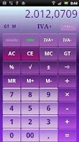 Screenshot of Calculator B16