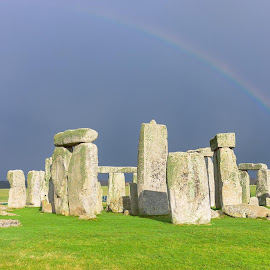 Stonehenge, prehistoric monument, UK by Daniel Rao - Buildings & Architecture Statues & Monuments
