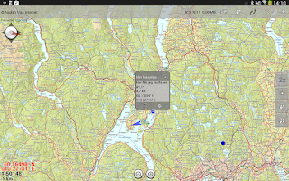 Screenshot of Norgeskart (old)