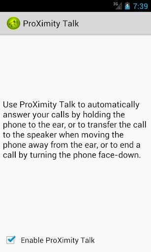 ProXimity Talk Trial