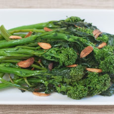 Broccoli Rabe with Garlic Chips