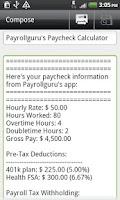 Screenshot of Payroll Guru