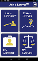Screenshot of Ask a Lawyer: Legal Help