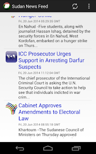 Sudan News Feed - screenshot